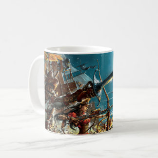 Steampunk pirate la tasse