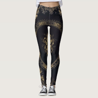 Steampunk Victoria Leggings