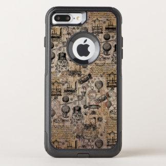 Steampunk vintage coque OtterBox commuter iPhone 8 plus/7 plus