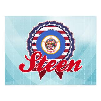 Steen, manganèse carte postale