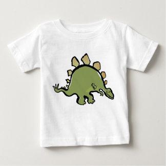 stegosaur heureux t-shirt pour bébé