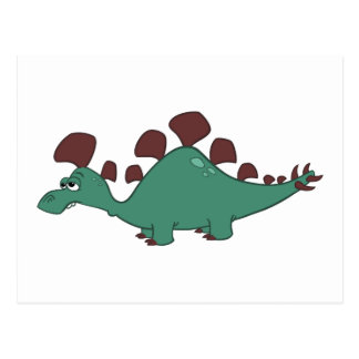 Stegosaurus Carte Postale