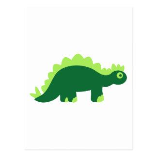 Stegosaurus comique carte postale