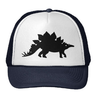 Stegosaurus de dinosaure casquette de camionneur