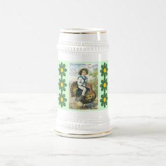 stein vintage de thanksgiving chope à bière