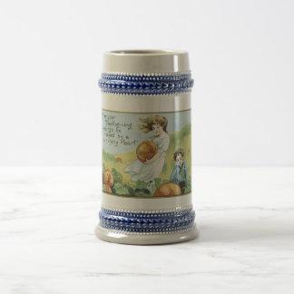 stein vintage de thanksgiving mugs