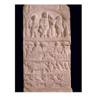 Stela votif consacré à Sature Carte Postale