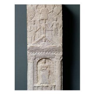 Stela votif consacré à Saturn Carte Postale