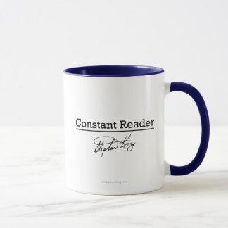 Stephen King, lecteur constant Mug
