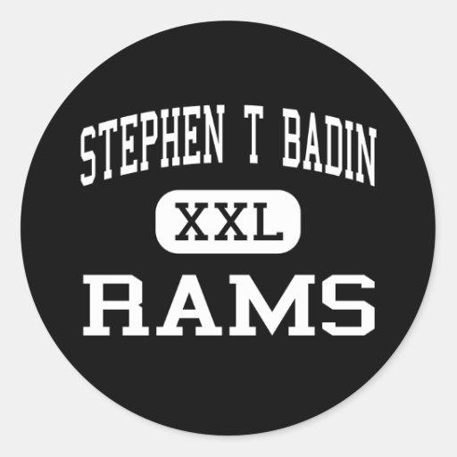 Stephen T Badin - RAM - haut - Hamilton Ohio Autocollants