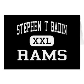 Stephen T Badin - RAM - haut - Hamilton Ohio Cartes De Vœux