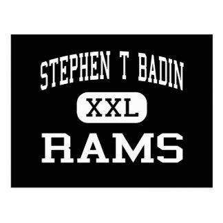 Stephen T Badin - RAM - haut - Hamilton Ohio Cartes Postales