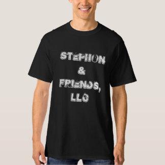 Stephon et T-shirt de hard rock d'amis