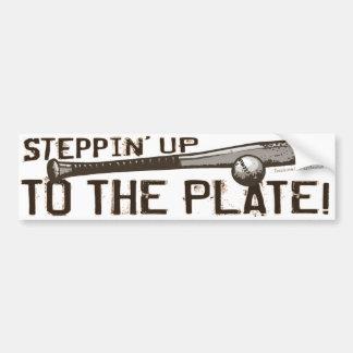 Steppin jusqu'au plat ! Bumpersticker Autocollant Pour Voiture