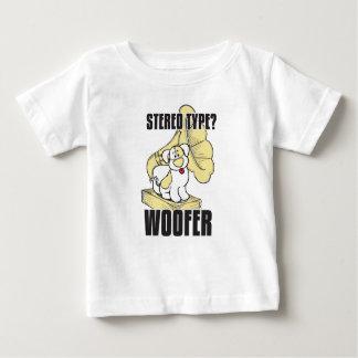 Stéréo de chien t-shirt pour bébé