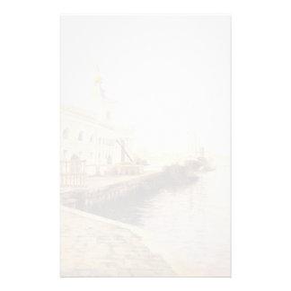 Stewart-Vue de Jules LeBlanc de Venise (le Dogana) Papier À Lettre Personnalisé
