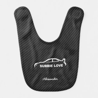 STI de Subaru WRX Impreza - amour de Subbie Bavoirs Pour Bébé