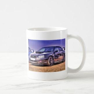 STi noir de Subaru Impreza WRX Mug