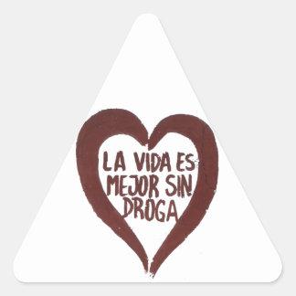 Sticker Amour #4 Sticker Triangulaire