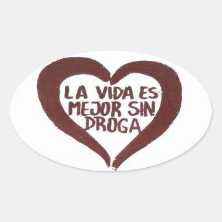 Sticker Amour #6 Sticker Ovale