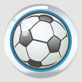Sticker Ballon Football