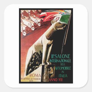 Sticker Carré 11ème ~ Roma d'automobile de Salone Internazionale