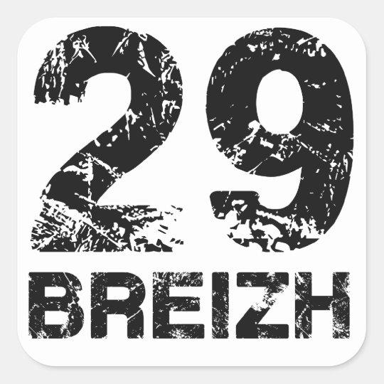 Sticker Carré 29 Breizh