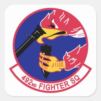 Sticker Carré 492nd Escadron de chasse