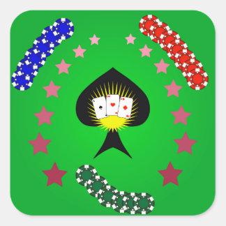 Sticker Carré 64Casino Logo_rasterized