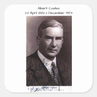 Sticker Carré Albert Coates