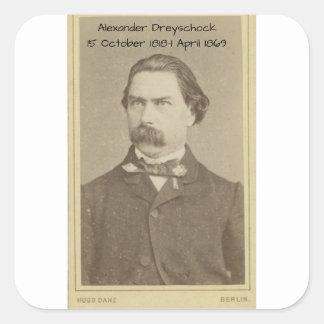 Sticker Carré Alexandre Dreyschock