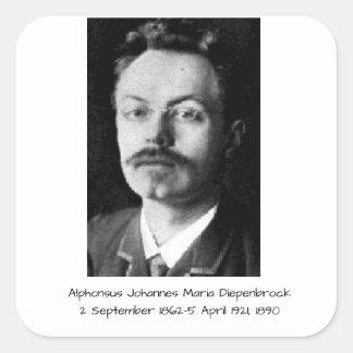 Sticker Carré Alphons Johannes Maria Diepenbrock 1890