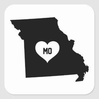 Sticker Carré Amour du Missouri
