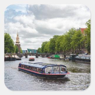 Sticker Carré Amsterdam