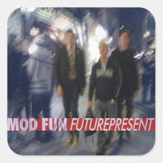 Sticker Carré AMUSEMENT Futurepresent de mod