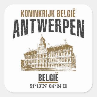 Sticker Carré Anvers
