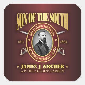 Sticker Carré Archer (SOTS2)