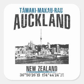 Sticker Carré Auckland