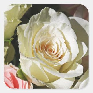 Sticker Carré Avec l'amour et la rémission