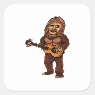 Sticker Carré Ballade de Bigfoot