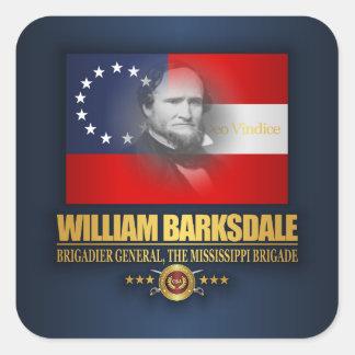 Sticker Carré Barksdale (patriote du sud)
