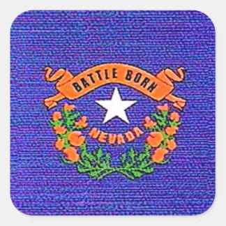Sticker Carré Bataille du Nevada soutenue