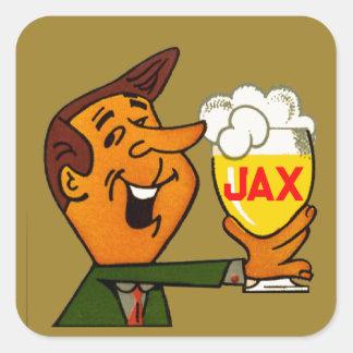 Sticker Carré Bière de Jax