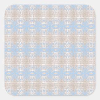 Sticker Carré bleu