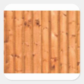 Sticker Carré bois et défauts