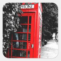 Boîte postale rouge à la mode de Londres
