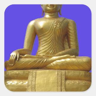 Sticker Carré Bouddha