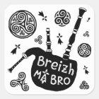 Sticker Carré Breizh mA Bro