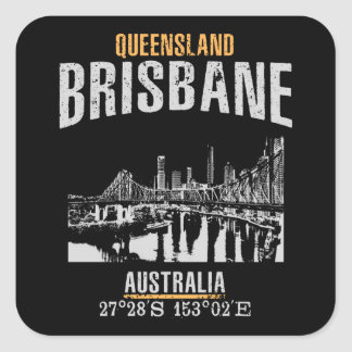 Sticker Carré Brisbane
