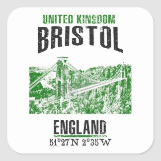 Sticker Carré Bristol